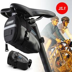 1.2L Waterproof Outdoor Bike Bicycle Cycling Saddle Bag Seat