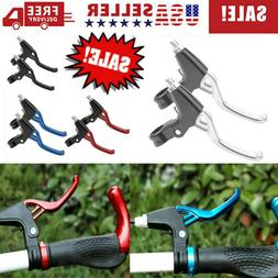 1 Pair Lightweight Bike Brake Lever Handle Mountain MTB Cycl
