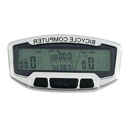 1 Set Wired LCD Bicycle Bike Cycling Computer Odometer Speed
