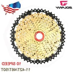 BOLANY 10 Speed 11-42T/46T/50T MTB Bike Cassettes Mountain B