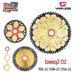 BOLANY 10 Speed 11-42T/ 46T/ 50T MTB Bike Cassettes Mountain