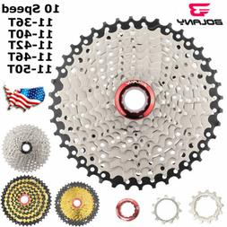 BOLANY 10 Speed 11-50T/46T/42T/40T36T Mountain Bike Bicycle
