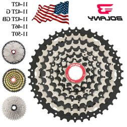 BOLANY 10 Speed 11-50T/46T/42T MTB Cassette Mountain Bicycle