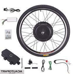 1000W New Electronic Bike Conversion Kit w/Motor Front Wheel