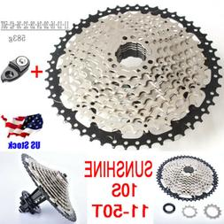 SunShine 10S 11-50T MTB Bike Cassette Mountain Bike Freewhee