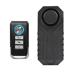 Wsdcam 113dB Wireless Anti-Theft Vibration Motorcycle Bicycl