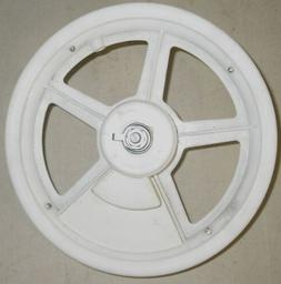"12 1/2"" WHITE FRONT MAG BIKE RIM CART WHEEL PARTS 550"