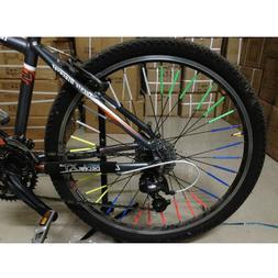 SPOKE REFLECTORS Bike Bicycle Wheel rim tube tire Glow Neon