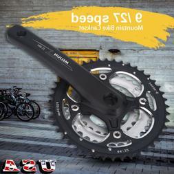 170mm Bicycle Triple Crankset 7/8/9 Speed MTB Mountain Bike