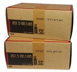 2 PACK - Tube, 26 x 1.95-2.125 32mm SCHRADER Valve