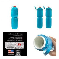 2 Pack Insulated Water Bottle 24 Oz BPA Free Sports Squeeze