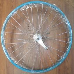 """24"""" REAR STEEL LIGHT TEAL CRUISER BICYCLE RIM COASTER BRAKE"""