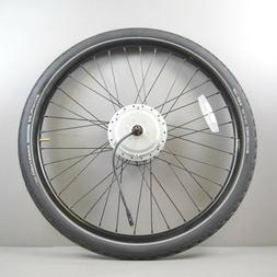 "26"" BAFANG DC36V - electric bike wheel with tire &  Tektro d"