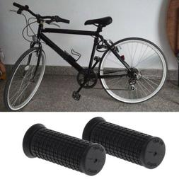 2pcs Bicycle Short Grips Handle Rubber Non Slip Cycling Scoo