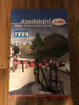 Bell 3-Bike Trunk Rack Tripleback New In Box Bicycle Renamed
