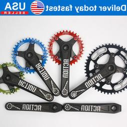 30-52t 104BCD 170mm Round Oval MTB Road Bike Chain Chainring