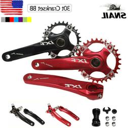 IXF 30T 104bcd CNC MTB Bike Crankset BB Narrow Wide Chainrin