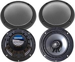 "Hogtunes 362R-RM 6.5"" Rear Speakers for 2014 & newer Harley-"