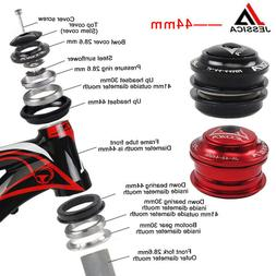 "44mm Sealed Cartridge Bearings MTB Road Bike Headset 1-1/8"""