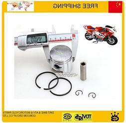 scooter 47cc 49cc pocket bike 44mm 40mm piston ring pin set