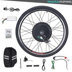 48V 26'' 1000W Electronic Bike Conversion Kit Front Whee