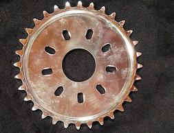 80cc Motor bike GAS ENGINE parts no mount chrome 36 teeth dish sprocket only