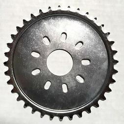 80cc Motor bike GAS ENGINE parts - chrome 36 teeth dish spro