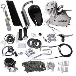 Iglobalbuy 80CC Petrol Gas Motor Bicycle Engine Complete Kit