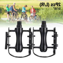 "9/16"" Bike Pedals Mountain Road Bicycle Flat Platform MTB Cy"
