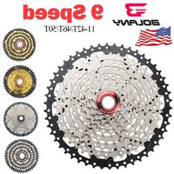 BOLANY 9 Speed 11-42T 11-46T 11-50T MTB Cassette Bike Mounta