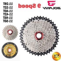 BOLANY 9 Speed 11-46T 50T 42T 32T 28T MTB Cassette Mountain