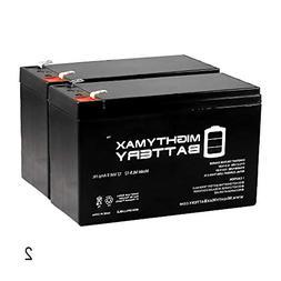 Mighty Max Battery 12V 9Ah SLA Battery for Razor MX350 MX400