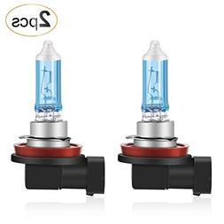 AGPTEK H11 Halogen Headlight Bulb, Foglight PGJ19-2 12V/55W