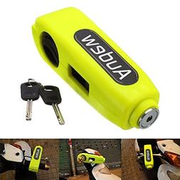 Audew Motorcycle/Scooter/ATV/Handlebar Grip Lock,Anti-theft