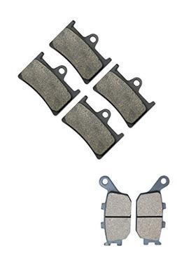 CNBK Motorcycle Semi Metallic Brake Pad Set for YAMAHA Stree