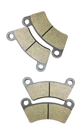 CNBK Semi Metallic Brake Pads Set for BOROSSI JOYNER ATV Bik