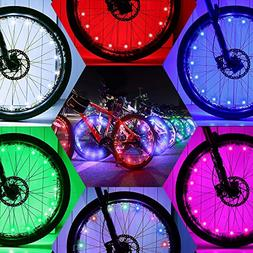 DAWAY Led Bike Wheel Lights - A01 Waterproof Bright Bicycle