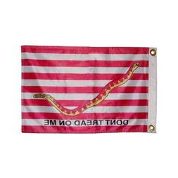 Double Sided Nylon 12X18 First Navy Jack Tea Party Boat Car