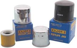Emgo 10-07800 Chrome Finish Spin-On Oil Filter