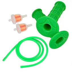 HIAORS 22mm Soft Rubber Handle Grips Fuel Line Filter for XR
