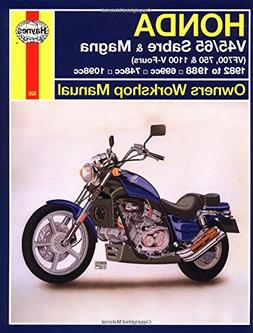 Honda V45/65 Sabre & Magna  1982 to 1988: Owners' Workshop M