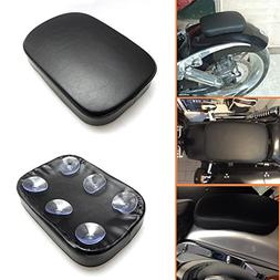 KEMIMOTO Pillion Pad Suction Cup Seat for Sportster Iron XL