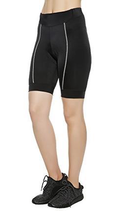 Lameda Bike Shorts Women with 3D Padded,Biking Cycling Pants
