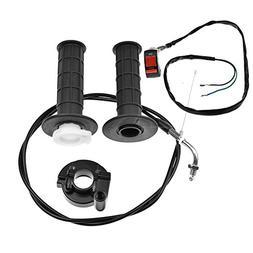 Minireen Twist Throttle Accelerator Handle Gripsand Bent Cab