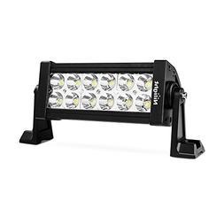 "Nilight 7"" 36w Spot LED Work Light Off Road LED Light Bar 12"