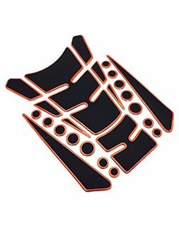 Niree Motorcycle Tank Gas Protector Pad Sticker Decal for Ho
