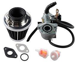 Podoy PZ19 Carburetor for Taotao ATV Cable Choke Carb Gasket