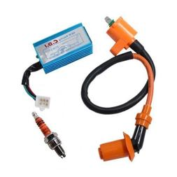 Poweka New Pack Of Racing Ignition Coil, 5 Pins CDI Box , 3