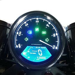 Samdo Universal DIY 12000 rpm LCD Digital Speedometer Odomet