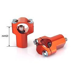 """TARAZON CNC Billet 32mm 42mm 52mm Clamp Risers 1 1/8"""" 28mm T"""